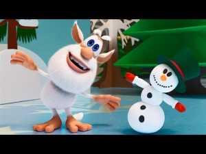 Буба — Все новогодние серии подряд — Мультфильм для детей