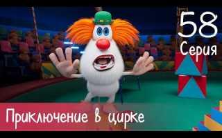 Буба — Приключение в цирке — Серия 58 — Мультфильм для детей