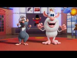 Буба — Урок английского — Head, Shoulders, Knees and Toes — Мультфильм для детей